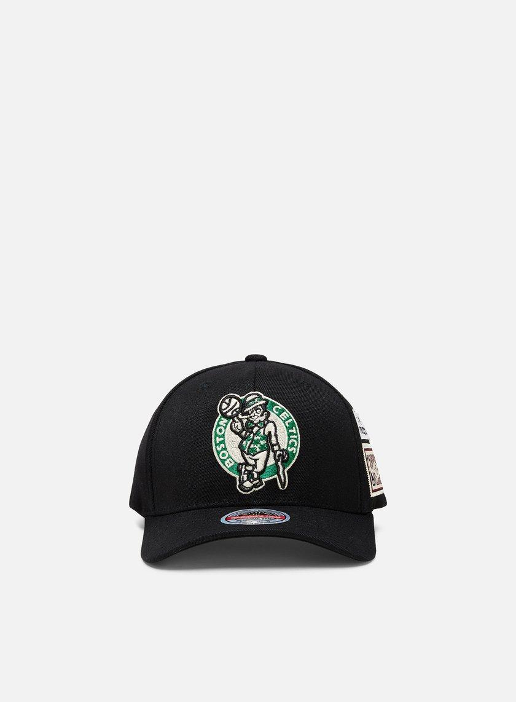 Mitchell & Ness The Jockey Redline Snapback Boston Celtics