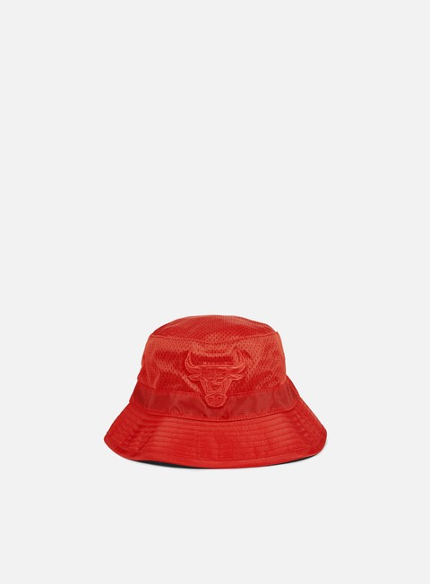 cappellini mitchell e ness tonal jersey mesh bucket chicago bulls red