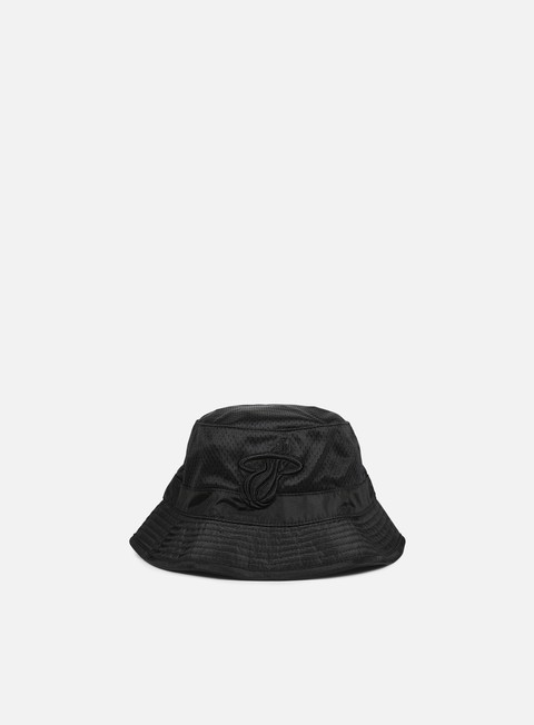cappellini mitchell e ness tonal jersey mesh bucket miami heat black