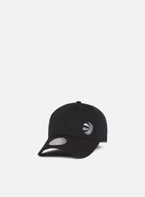 Curved Brim Caps Mitchell & Ness Victory Strapback Toronto Raptors