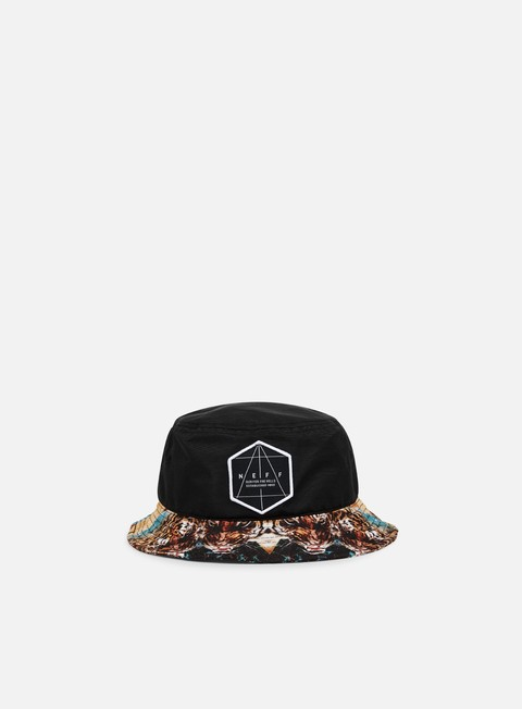 Outlet e Saldi Cappellini Bucket Neff Battlekat Bucket Hat