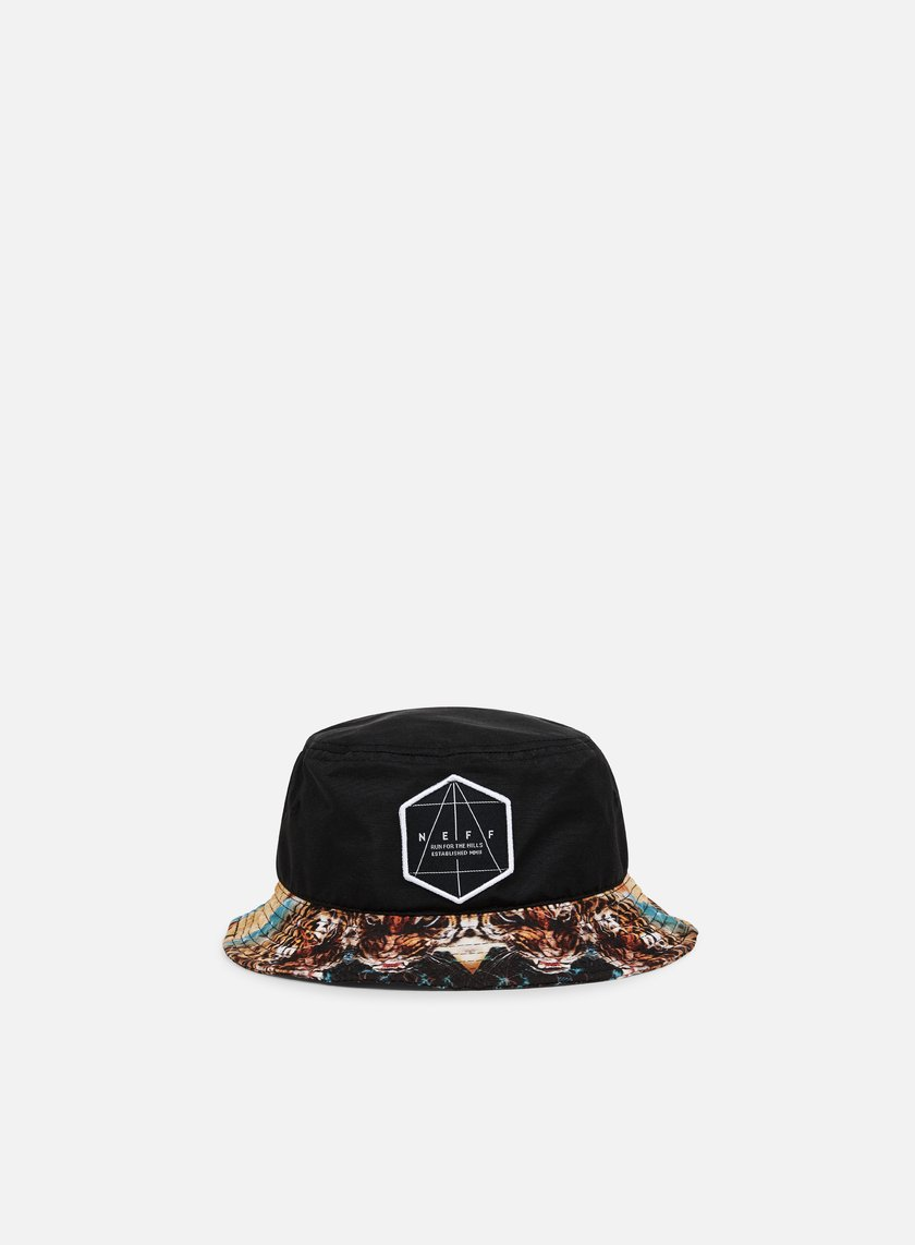 Neff - Battlekat Bucket Hat, Black