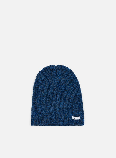 cappellini neff daily heather beanie black blue
