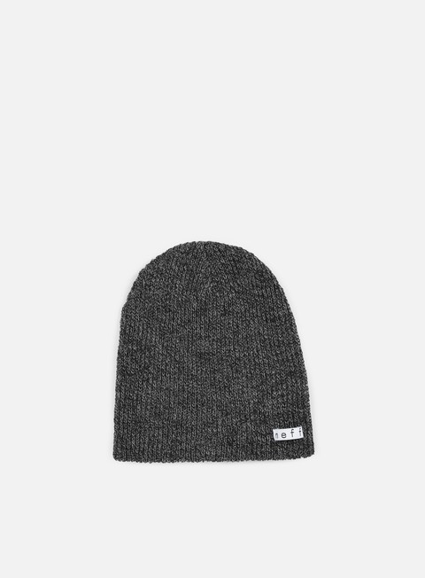 cappellini neff daily heather beanie black grey