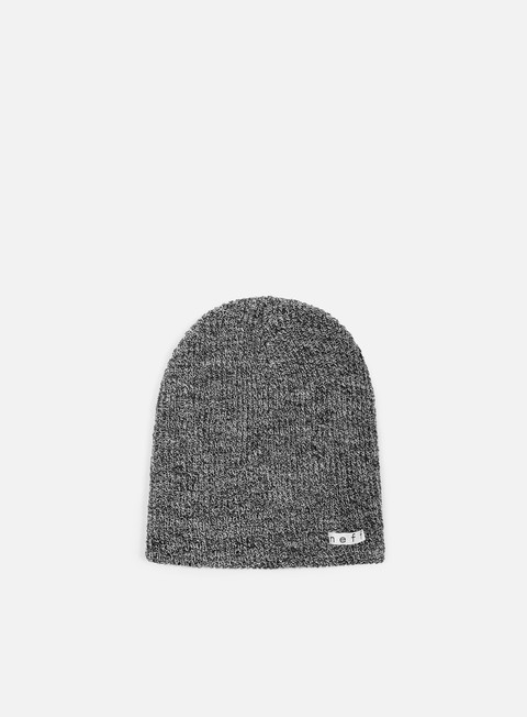 cappellini neff daily heather beanie black white