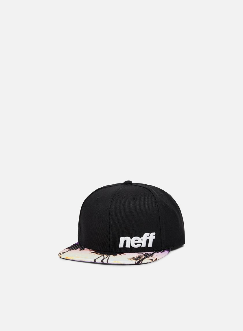 Neff - Daily Pattern Snapback, Black/Sunset