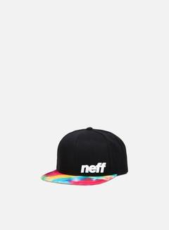 Neff - Daily Pattern Snapback, Black/Tie Dye