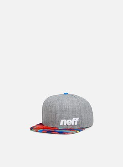 Neff - Daily Pattern Snapback, Heather/Tropic 1