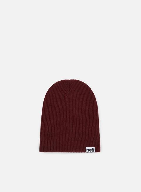 cappellini neff fold beanie maroon