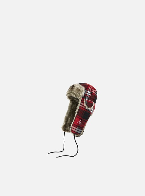 cappellini neff slavic trapper hat red