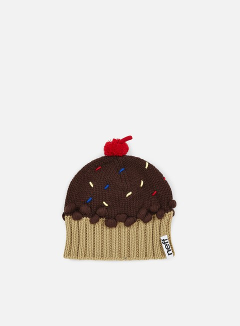 cappellini neff wmns cupcake beanie chocolate