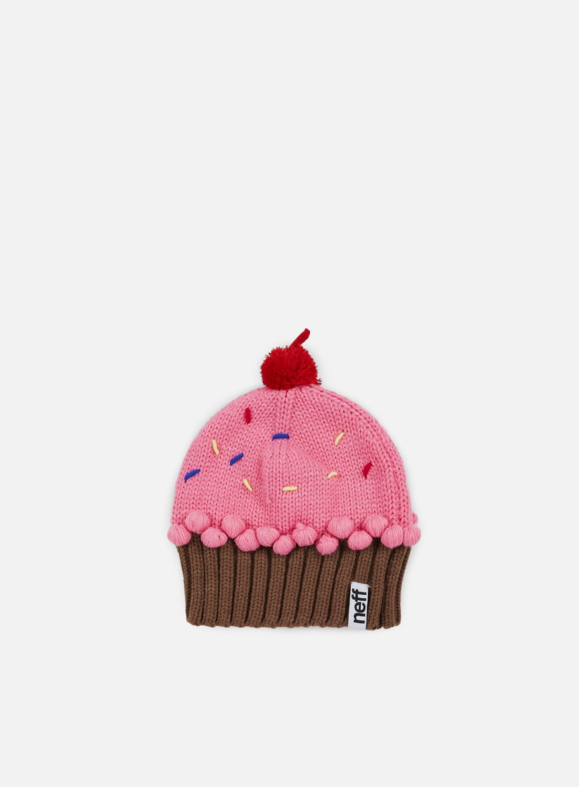 Neff - WMNS Cupcake Beanie, Strawberry
