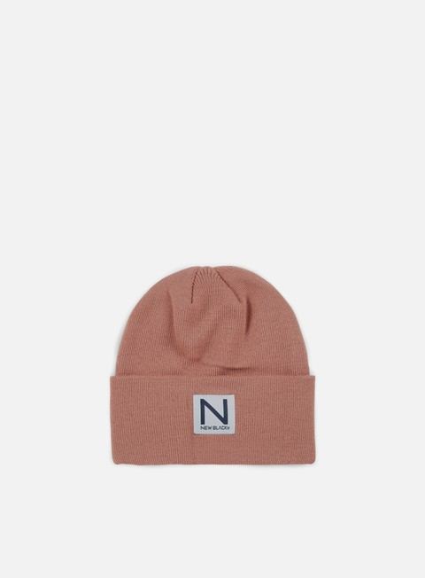 cappellini new black classic beanie clay