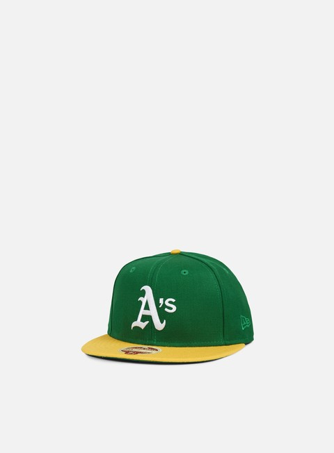 Outlet e Saldi Cappellini True Fitted New Era 1980 Heritage Oakland Athletics