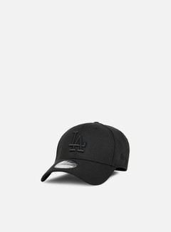 New Era - 39Thirty Bob Team Poly LA Dodgers, Black/Black 1