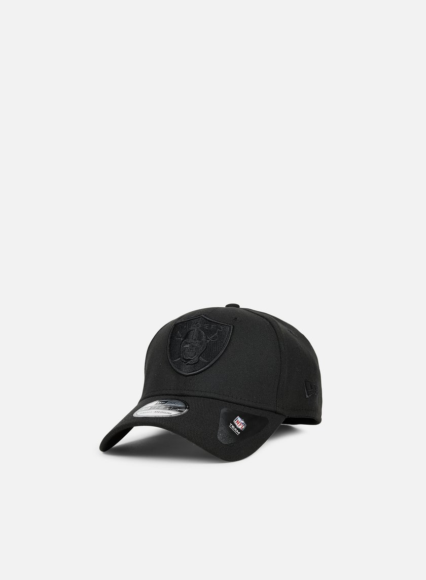 New Era - 39Thirty Bob Team Poly Oakland Raiders, Black/Black
