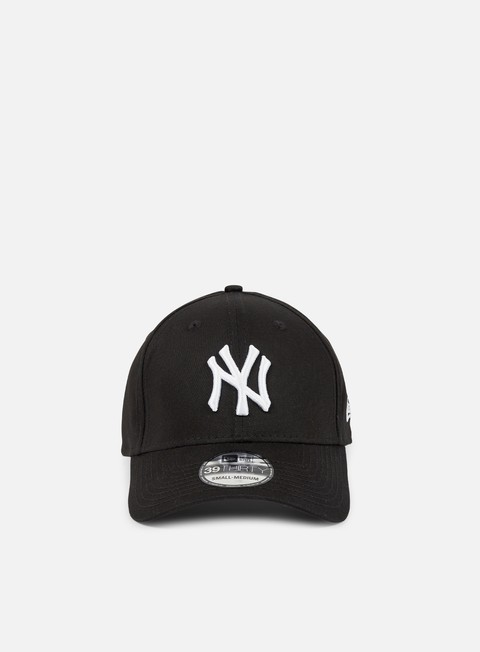 Curved Brim Caps New Era 39Thirty League Basic NY Yankees