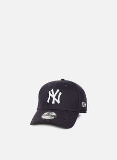 New Era - 39Thirty League Basic NY Yankees, Navy/White 1