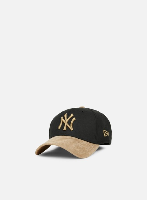 cappellini new era 39thirty poly suede mix ny yankees black wheat