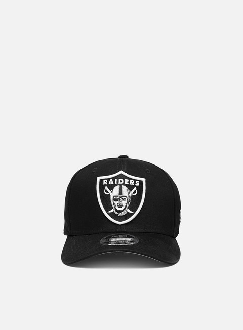 Cappellini con visiera New Era 9Fifty Stretch Snapback Las Vegas Raiders