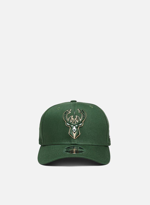 New Era 9Fifty Stretch Snapback Milwaukee Bucks