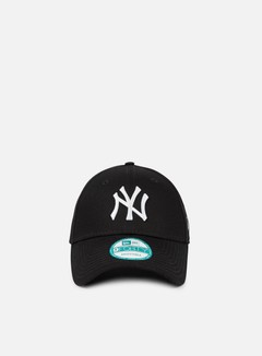 New Era - 9Forty League Basic NY Yankees, Black/White 1