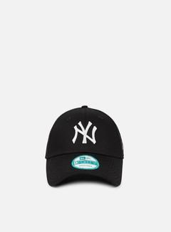 New Era - 9Forty League Basic NY Yankees, Black/White