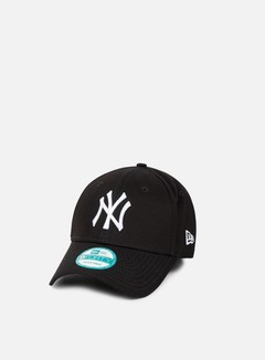 New Era - 9Forty League Basic NY Yankees, Black/White 2