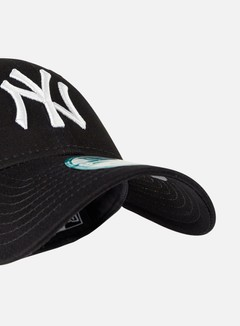 New Era - 9Forty League Basic NY Yankees, Black/White 4