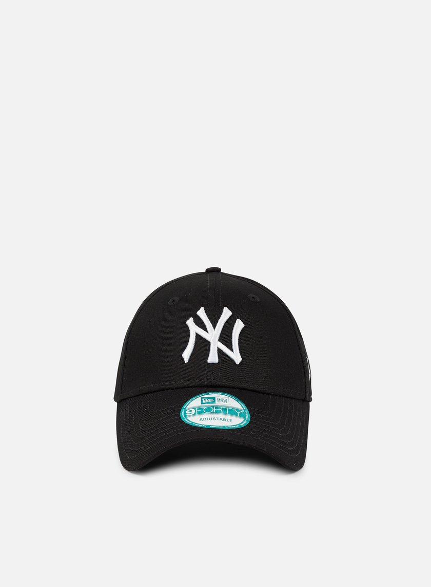 New Era - 9Forty League Basic NY Yankees, Black/White