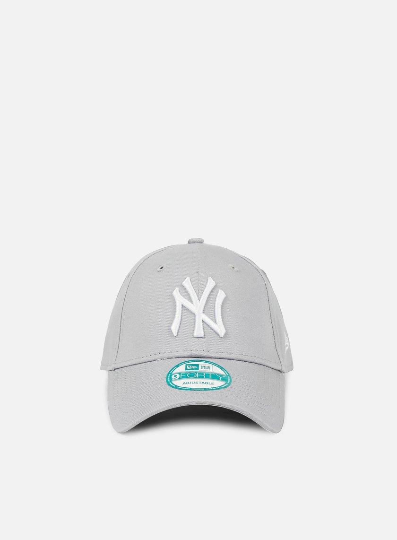 New Era - 9Forty League Basic NY Yankees, Gray/White