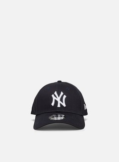 New Era - 9Forty League Basic NY Yankees, Navy/White