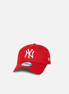 New Era - 9Forty League Basic NY Yankees, Scarlet/White 3