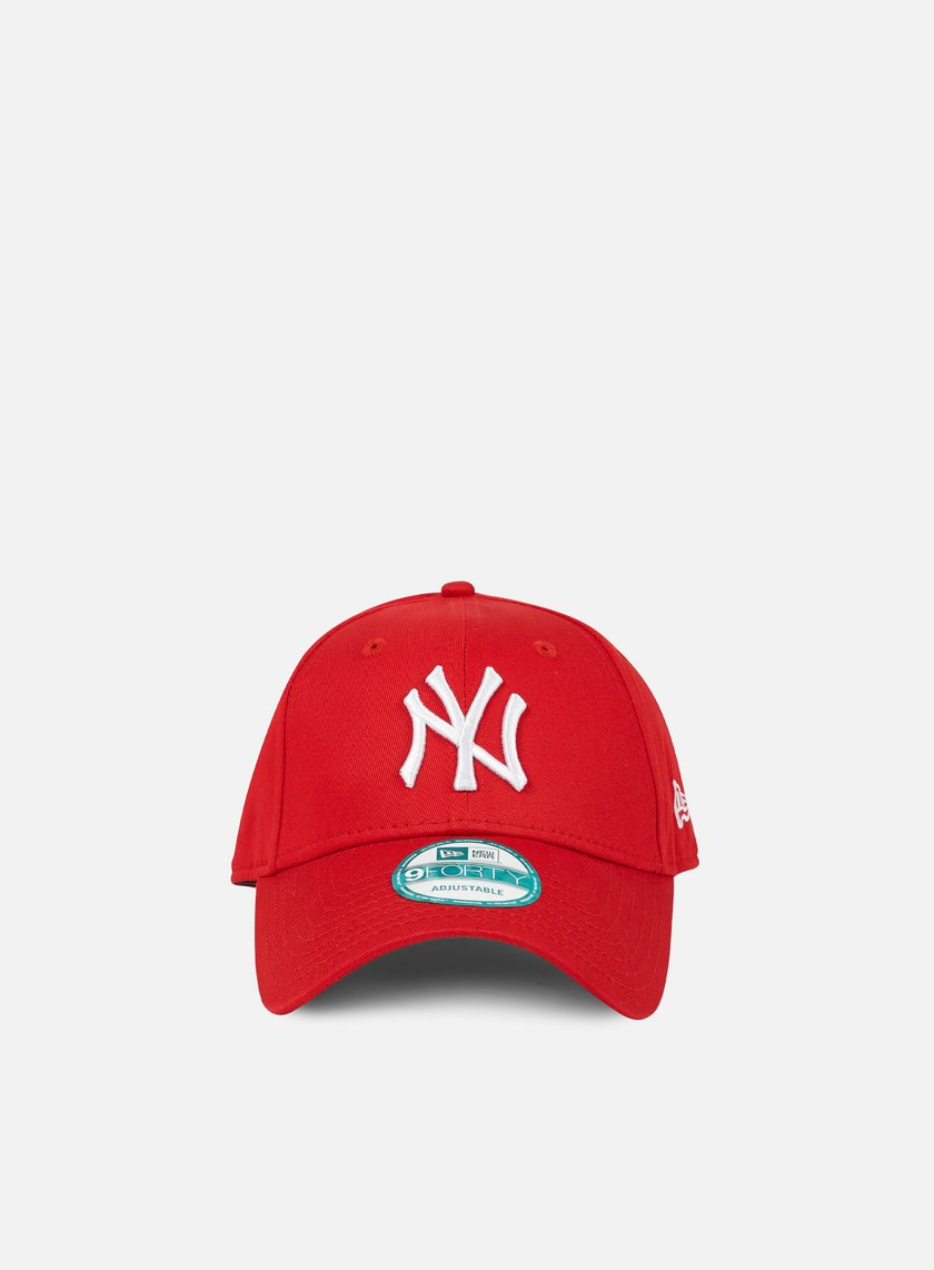 New Era - 9Forty League Basic NY Yankees, Scarlet/White