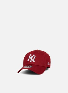 New Era - 9Forty MLB League Essential Strapback NY Yankees, Cardinal