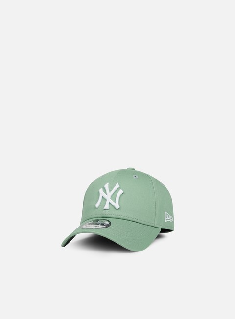Curved Brim Caps New Era 9Forty MLB League Essential Strapback NY Yankees