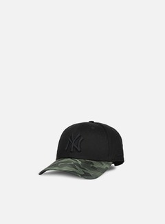 New Era - 9forty Nylon Camo Vize NY Yankees, Black/Olive 1
