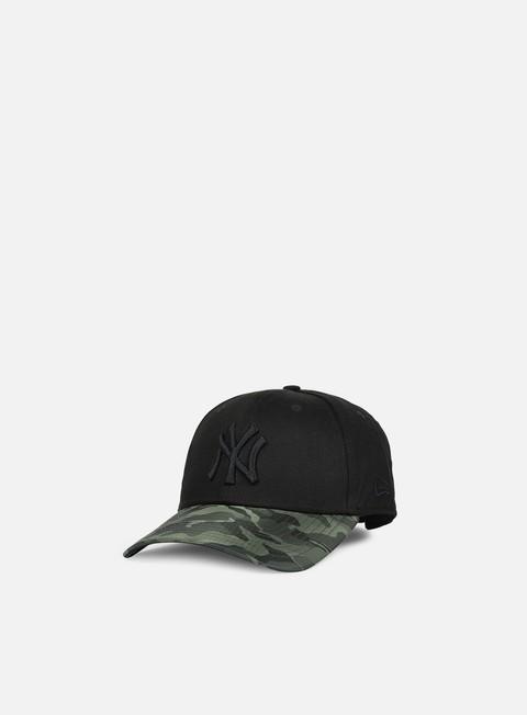 Curved Brim Caps New Era 9forty Nylon Camo Vize NY Yankees