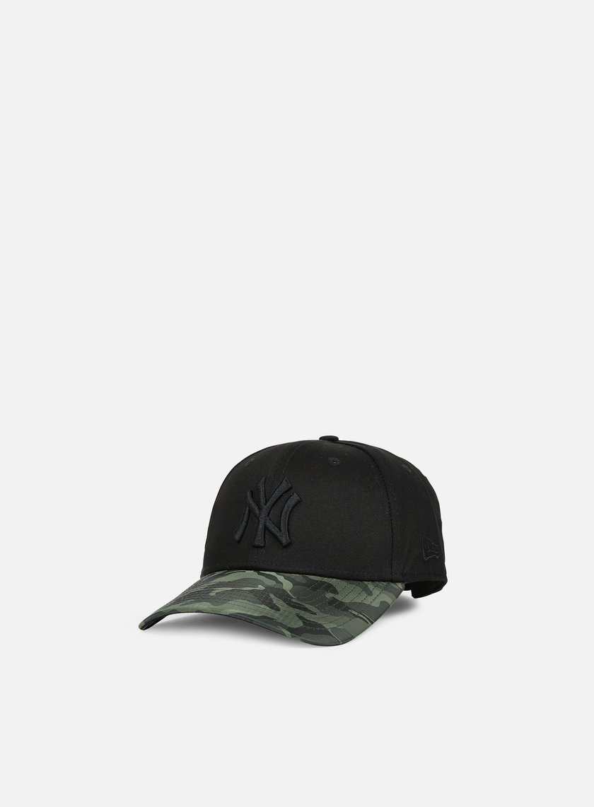New Era - 9forty Nylon Camo Vize NY Yankees, Black/Olive