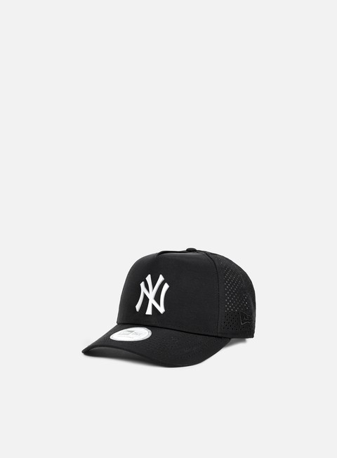 cappellini new era aframe perforated poly snapback ny yankees black