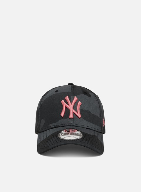 New Era All Over Camo 9Forty Strapback NY Yankees