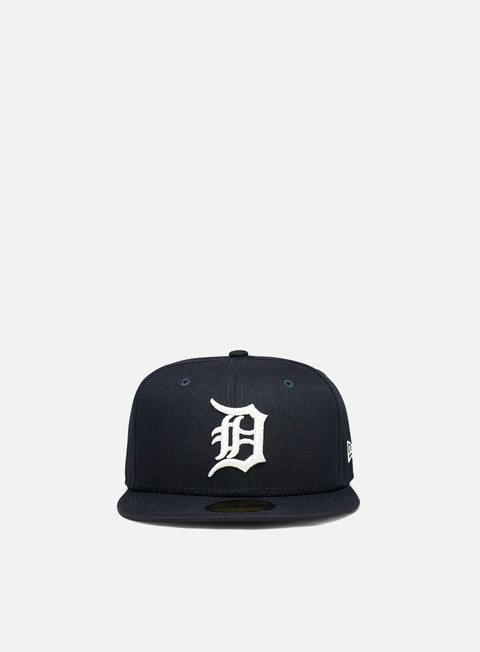 Cappellini True Fitted New Era Authentic On Field Home 59Fifty Detriot Tigers Cap