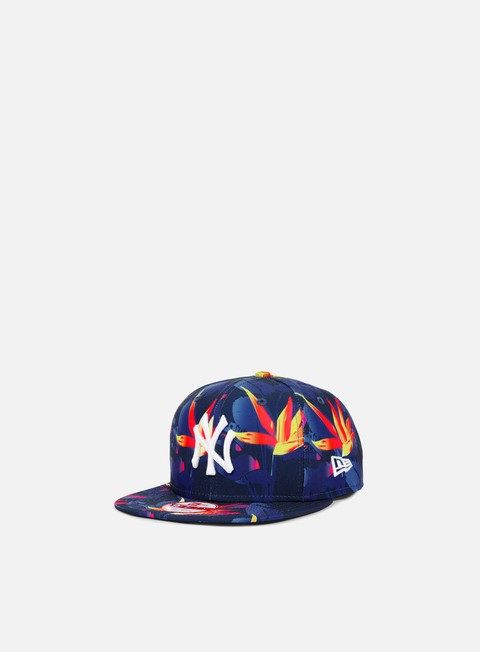 cappellini new era birds of paradise snapabck ny yankees multi