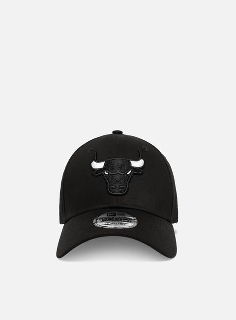 New Era Black Base 9Forty Snapback Chicago Bulls