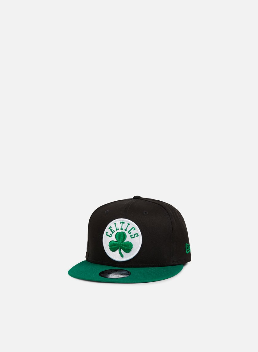 New Era - Black Base Snapback Boston Celtics, Team Colors