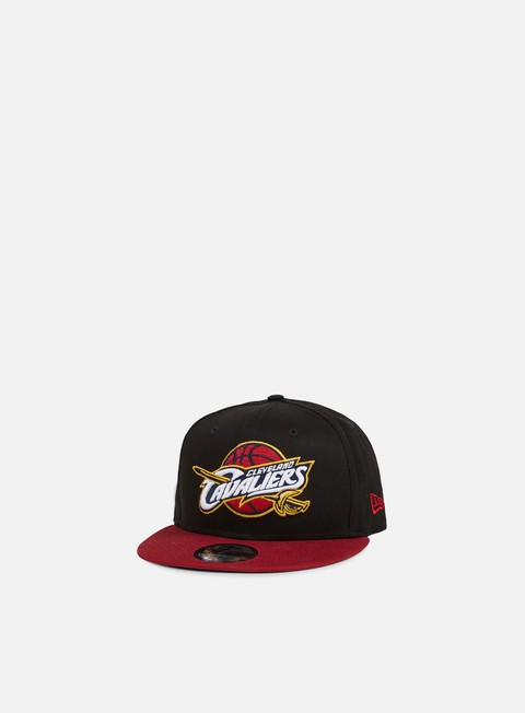 cappellini new era black base snapback cleveland cavaliers team colors