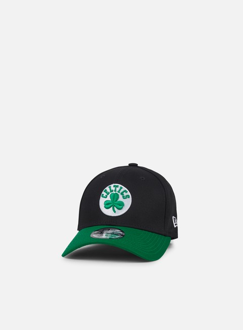 cappellini new era blackbase 39thirty boston celtics black team colors