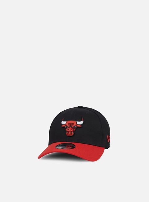 cappellini new era blackbase 39thirty chicago bulls black team colors