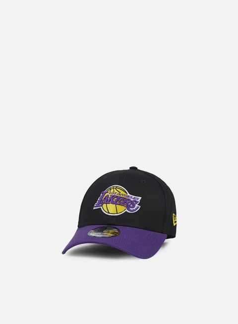 cappellini new era blackbase 39thirty la lakers black team colors