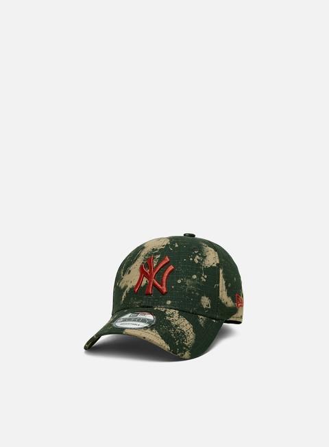 Outlet e Saldi Cappellini Visiera Curva New Era Blur Camo 9Forty Snapback NY Yankees